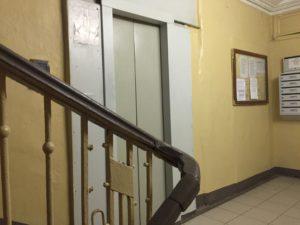 Anna Politkovskaya murdered here waiting for her lift
